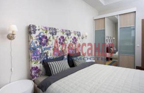 3-комнатная квартира (89м2) в аренду по адресу Морской пр., 33— фото 5 из 9