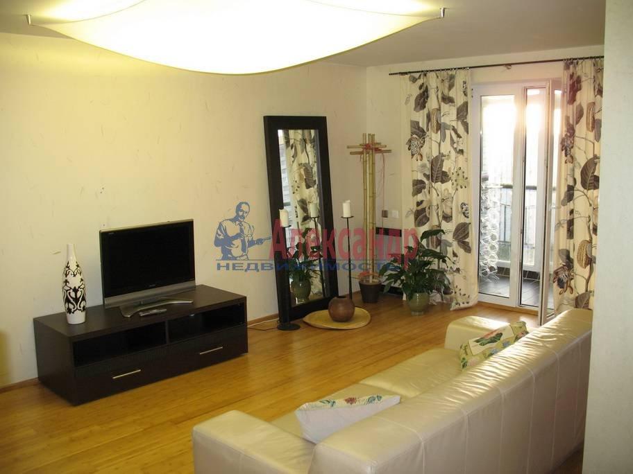 2-комнатная квартира (68м2) в аренду по адресу Туристская ул., 2— фото 5 из 7