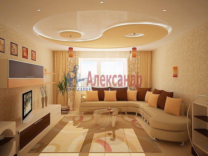 2-комнатная квартира (80м2) в аренду по адресу Композиторов ул., 18— фото 2 из 2
