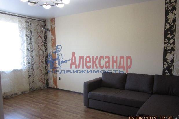 1-комнатная квартира (41м2) в аренду по адресу Коломяжский пр., 26— фото 2 из 3
