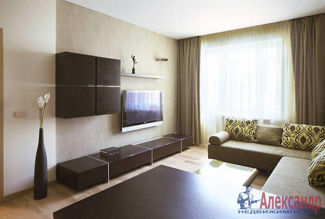 1-комнатная квартира (37м2) в аренду по адресу Шкиперский проток, 20— фото 1 из 3