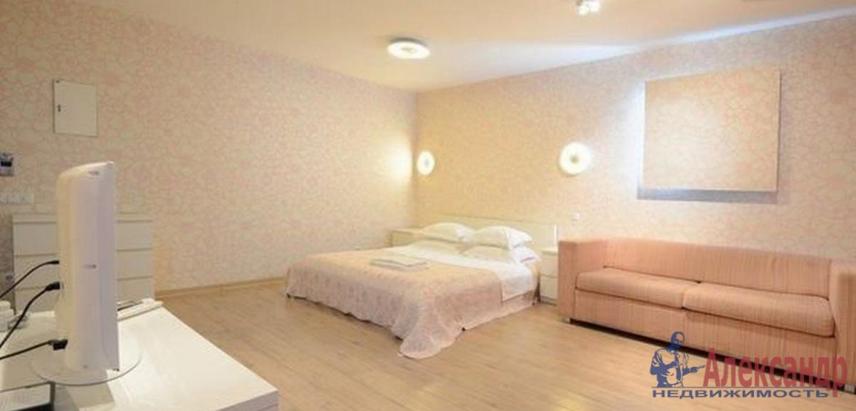 1-комнатная квартира (45м2) в аренду по адресу Шкапина ул., 9— фото 1 из 2
