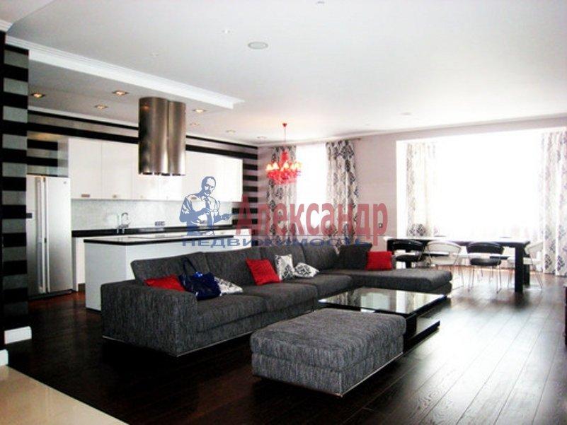 3-комнатная квартира (126м2) в аренду по адресу Средний В.О. пр., 85— фото 4 из 11