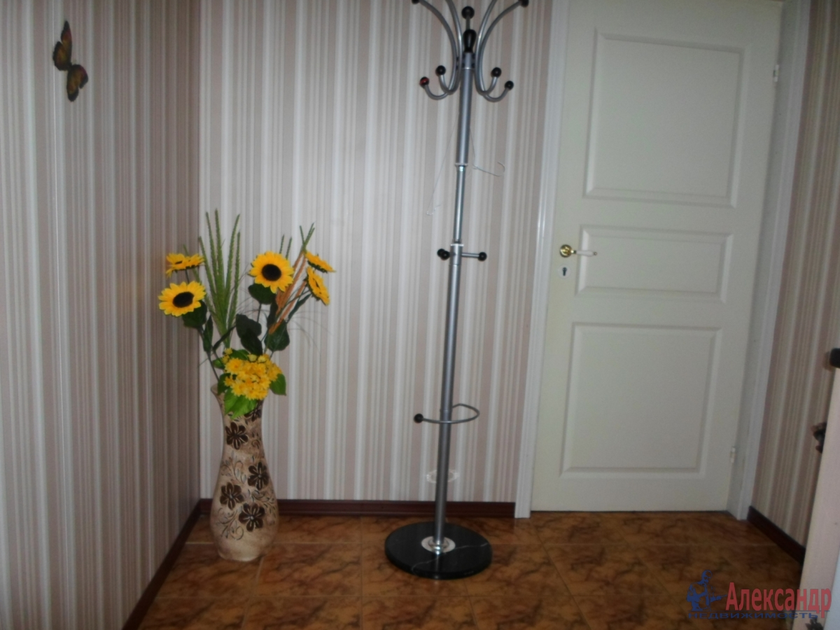 1-комнатная квартира (39м2) в аренду по адресу Бабушкина ул., 105— фото 2 из 5