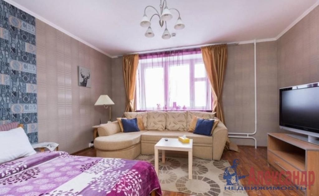 1-комнатная квартира (50м2) в аренду по адресу Науки пр., 63— фото 1 из 3