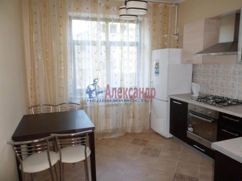 1-комнатная квартира (48м2) в аренду по адресу Науки пр., 15— фото 2 из 3