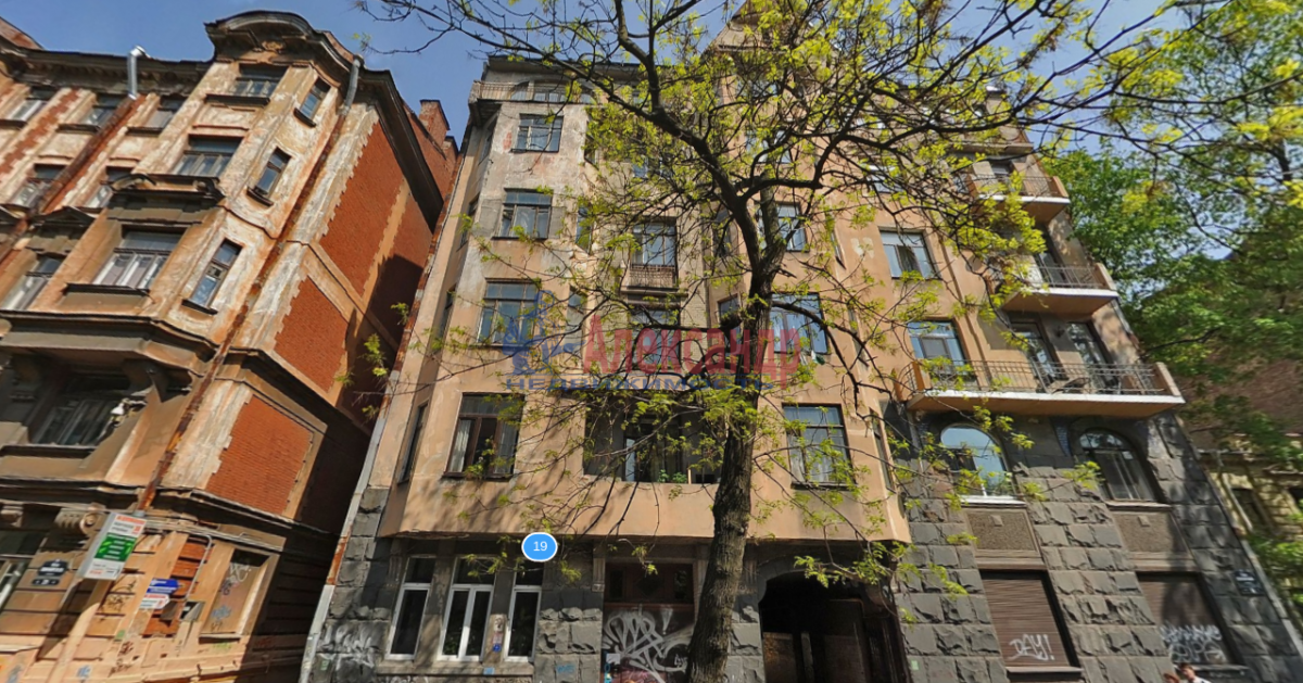 2-комнатная квартира (48м2) в аренду по адресу 12 линия В.О., 19— фото 3 из 3