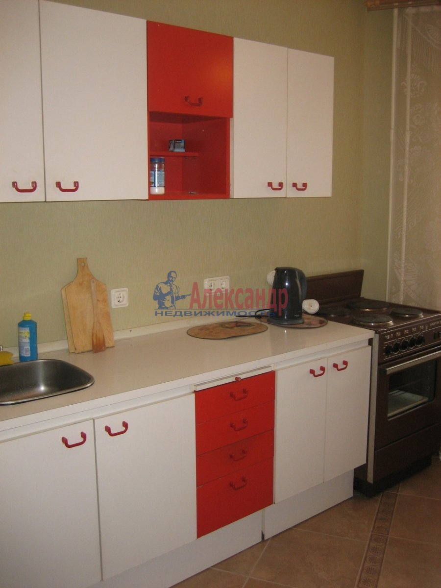 1-комнатная квартира (36м2) в аренду по адресу Октябрьская наб., 124— фото 4 из 5