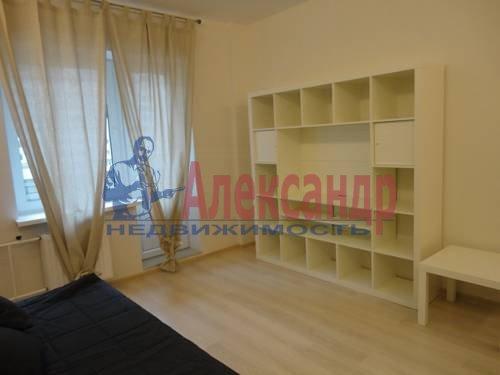 1-комнатная квартира (40м2) в аренду по адресу Варшавская ул., 23— фото 1 из 8