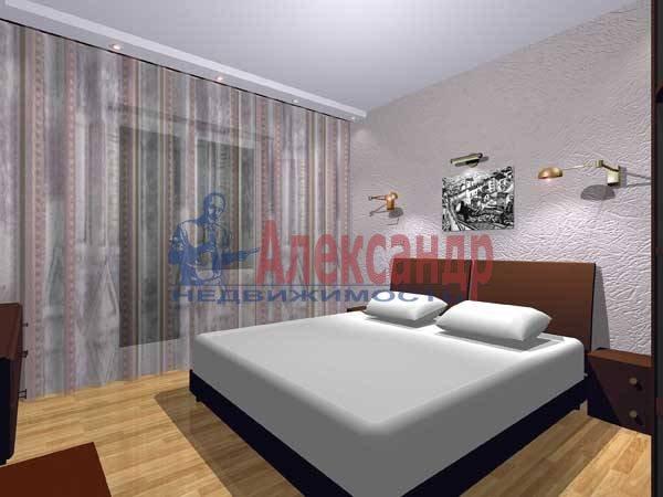 2-комнатная квартира (55м2) в аренду по адресу Большеохтинский пр., 1— фото 1 из 2