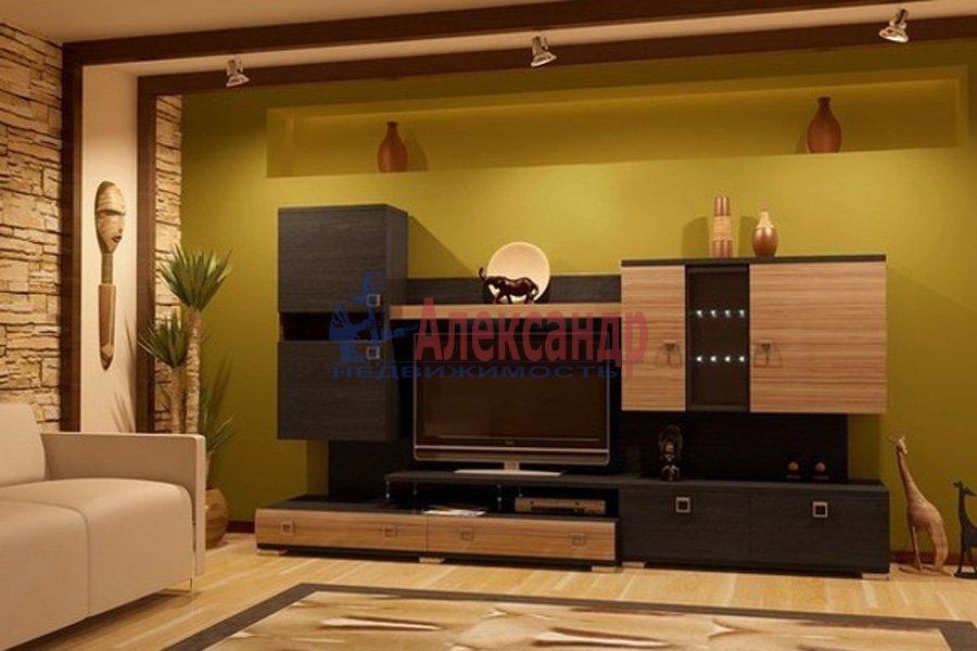3-комнатная квартира (100м2) в аренду по адресу Асафьева ул., 3— фото 1 из 2