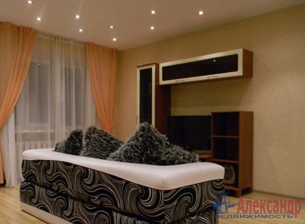 1-комнатная квартира (42м2) в аренду по адресу Науки пр., 79— фото 1 из 2
