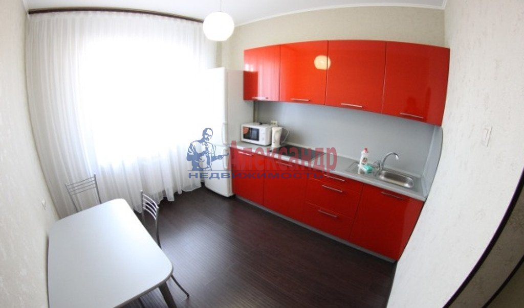 1-комнатная квартира (34м2) в аренду по адресу Обуховской Обороны пр., 195— фото 4 из 5