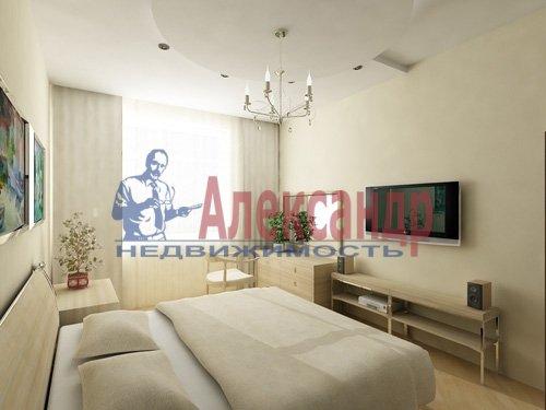 1-комнатная квартира (44м2) в аренду по адресу Гражданский пр., 113— фото 3 из 3