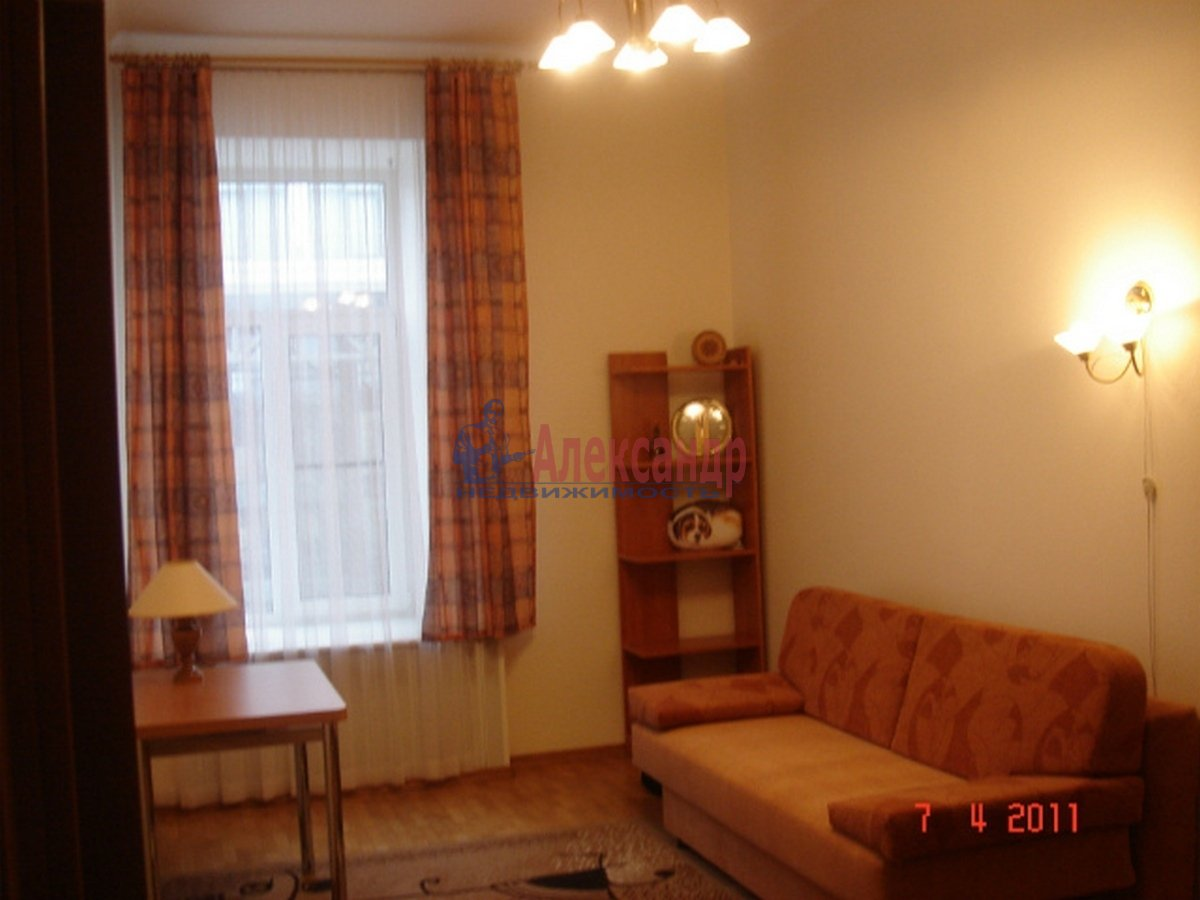3-комнатная квартира (102м2) в аренду по адресу Невский пр., 162— фото 6 из 10