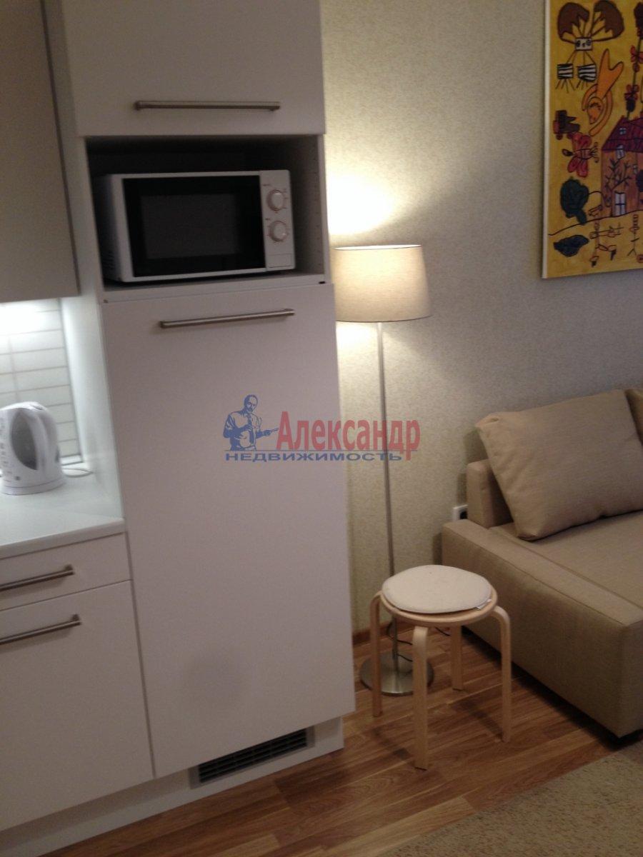 1-комнатная квартира (34м2) в аренду по адресу Мурино пос., Привокзальная пл., 1А— фото 4 из 13