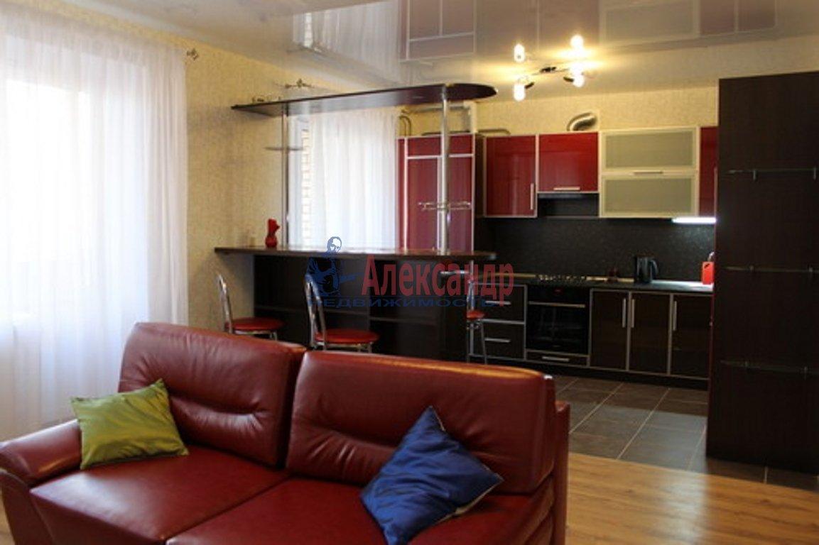 2-комнатная квартира (55м2) в аренду по адресу Малодетскосельский пр., 28— фото 1 из 2