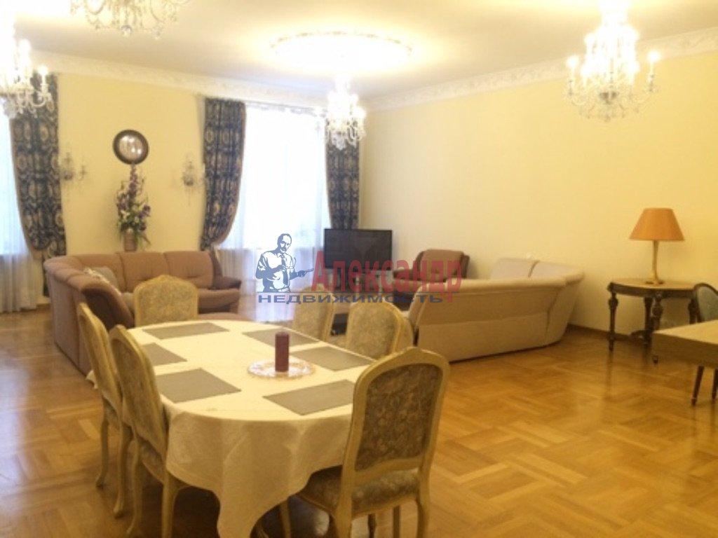 3-комнатная квартира (180м2) в аренду по адресу Конногвардейский бул., 6— фото 1 из 9