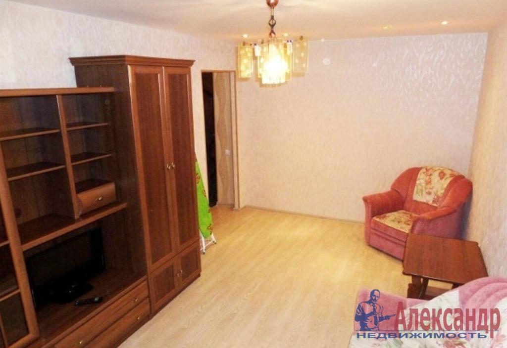 1-комнатная квартира (44м2) в аренду по адресу Большевиков пр., 38— фото 2 из 4