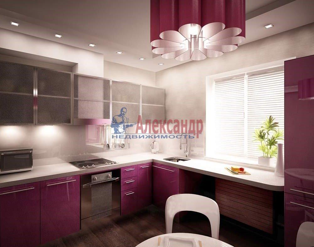 3-комнатная квартира (100м2) в аренду по адресу Науки пр., 63— фото 2 из 2
