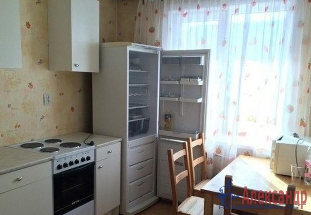 1-комнатная квартира (41м2) в аренду по адресу Ленинский пр., 57— фото 2 из 3