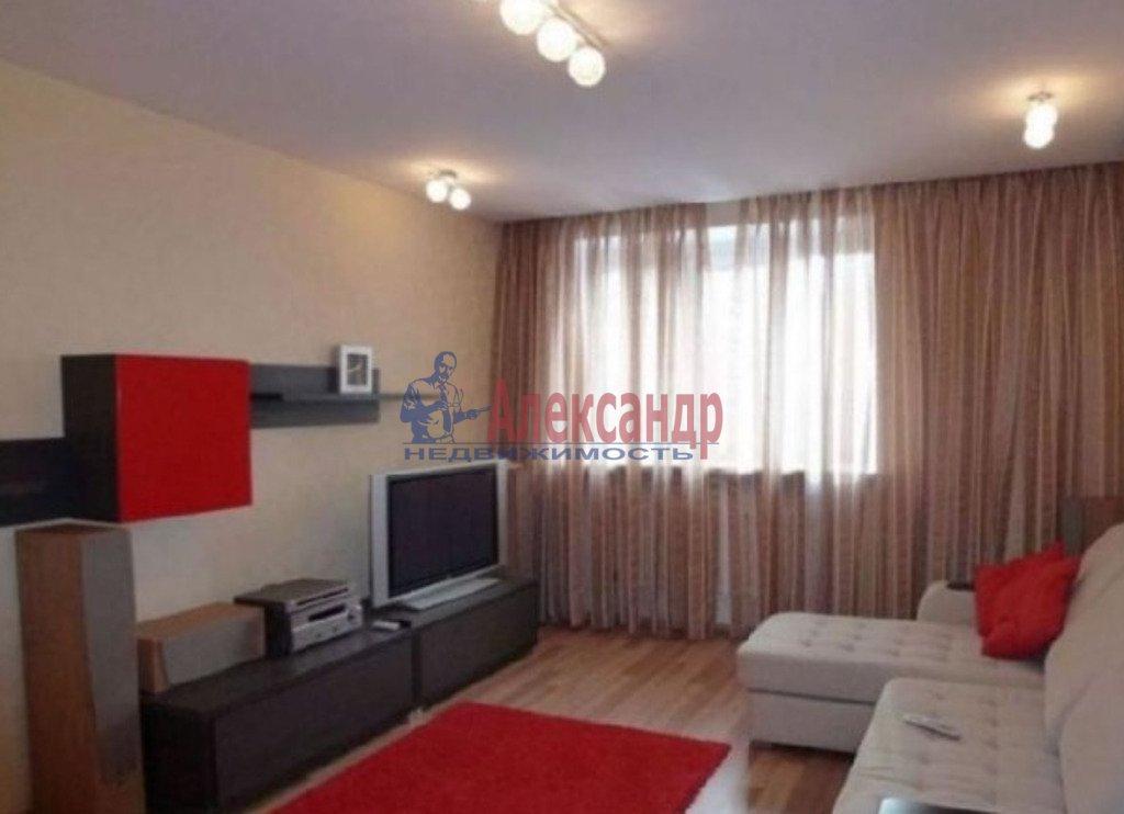 1-комнатная квартира (37м2) в аренду по адресу Ленинский пр., 78— фото 1 из 3