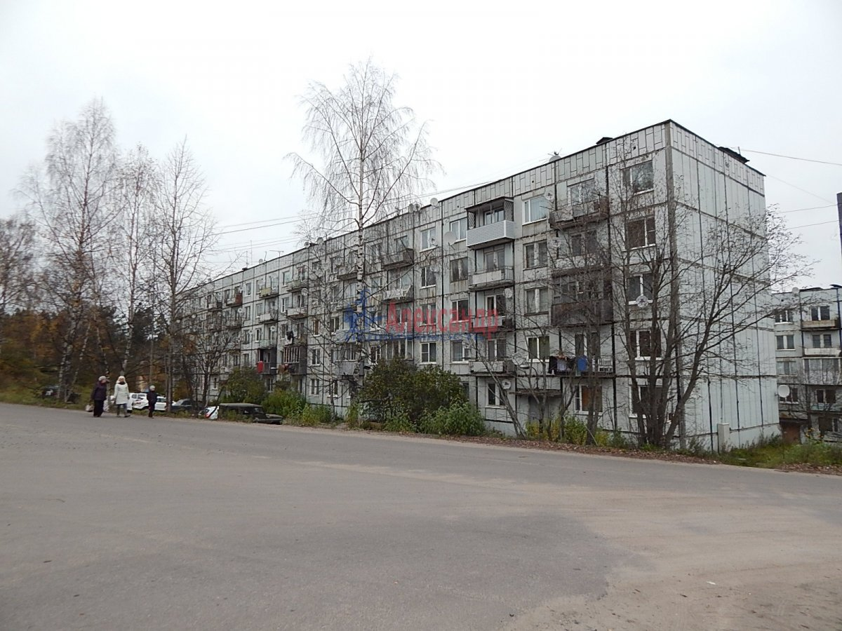 2-комнатная квартира (48м2) в аренду по адресу Лахденпохья г., Трубачева ул.— фото 18 из 20