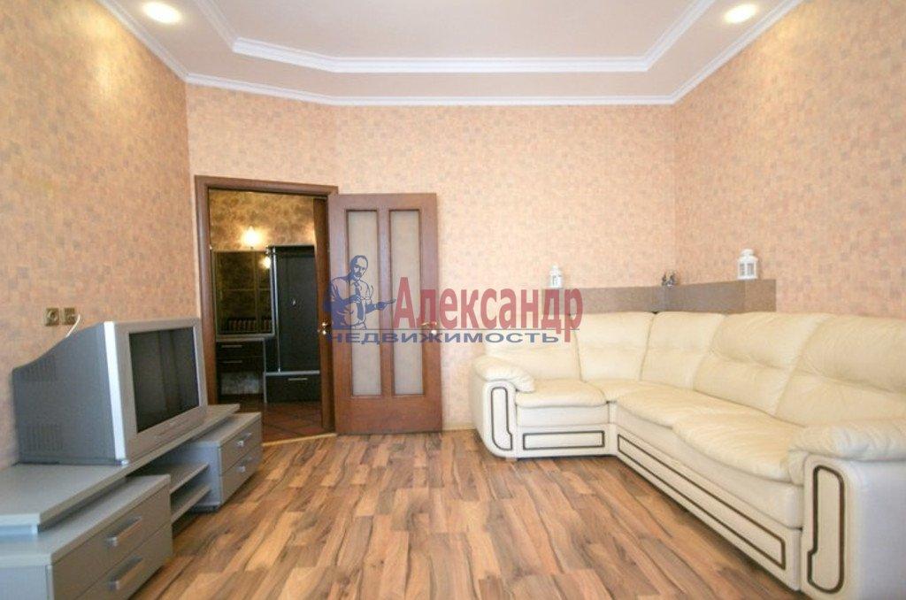 2-комнатная квартира (54м2) в аренду по адресу Ленинский пр., 178— фото 1 из 4