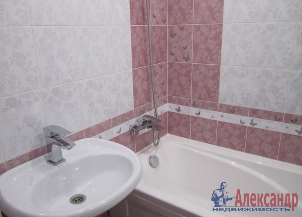 1-комнатная квартира (41м2) в аренду по адресу Обуховской Обороны пр., 110— фото 3 из 3