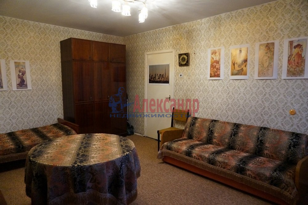 1-комнатная квартира (33м2) в аренду по адресу Подвойского ул., 28— фото 6 из 7