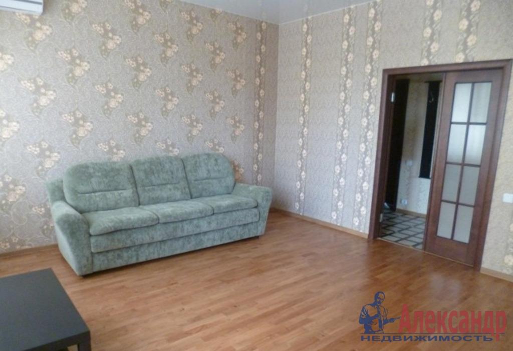 2-комнатная квартира (72м2) в аренду по адресу Просвещения просп., 53— фото 3 из 4