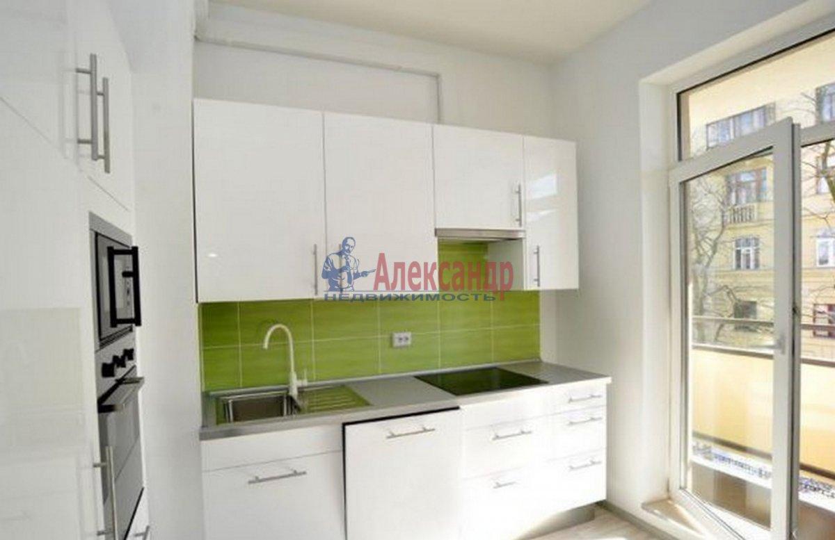 1-комнатная квартира (47м2) в аренду по адресу Детская ул., 18— фото 1 из 9