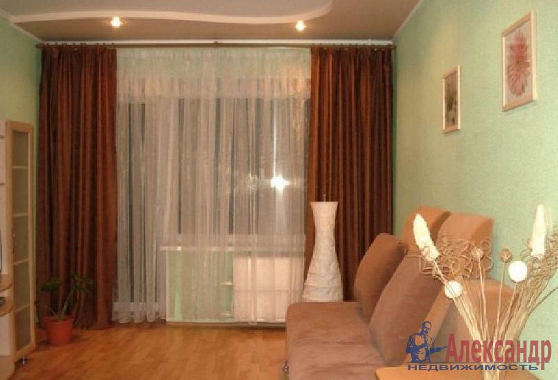 1-комнатная квартира (40м2) в аренду по адресу Ильюшина ул., 6— фото 1 из 2