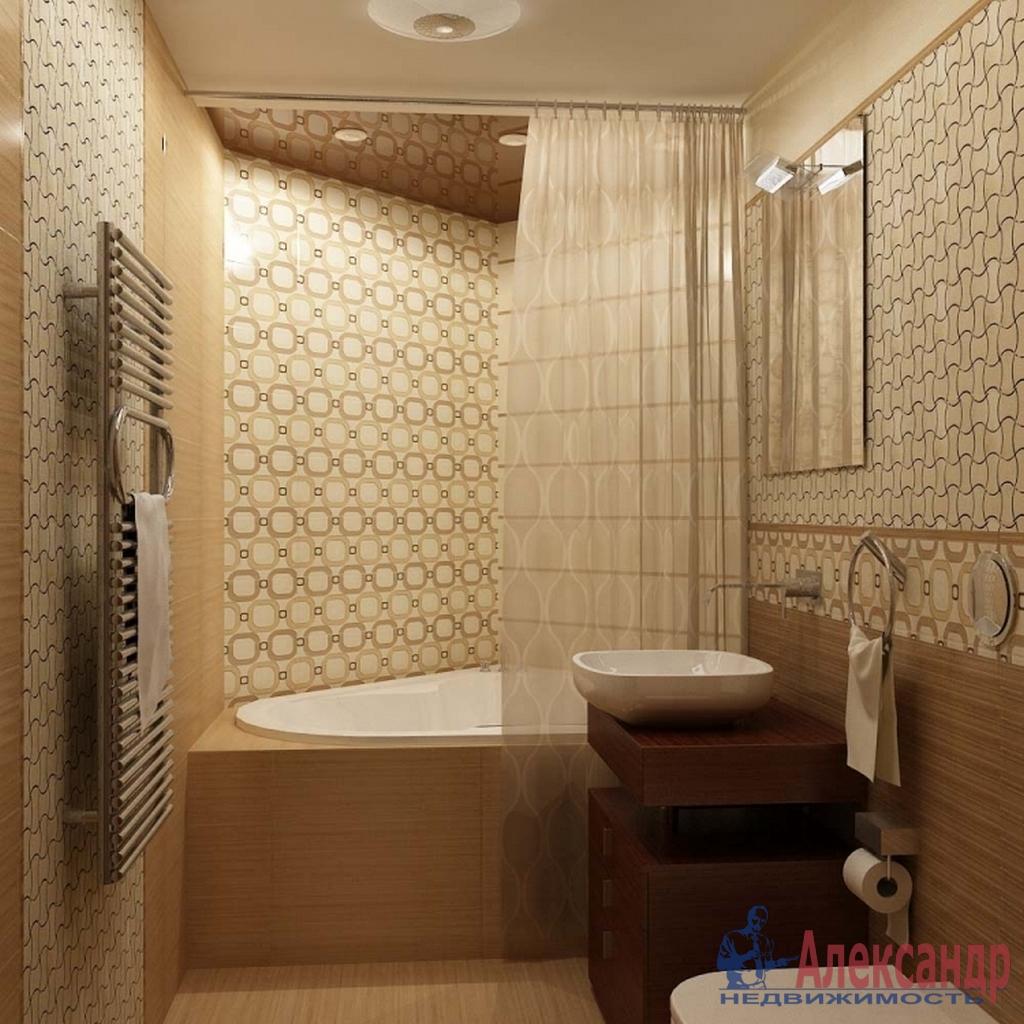 1-комнатная квартира (48м2) в аренду по адресу Фермское шос., 32— фото 2 из 2