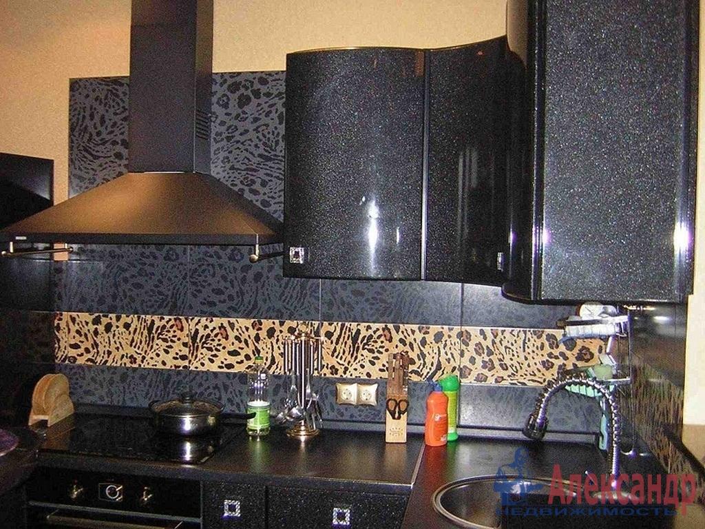 1-комнатная квартира (37м2) в аренду по адресу Кудрово дер., Европейский просп., 11— фото 2 из 3