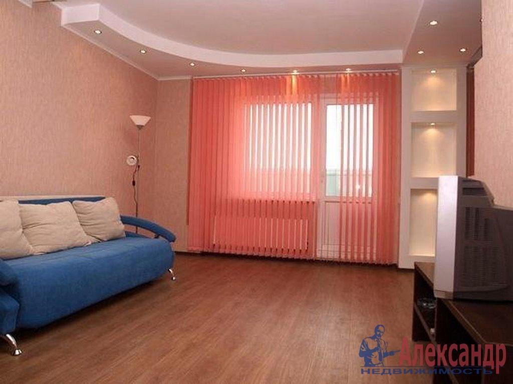 1-комнатная квартира (43м2) в аренду по адресу Коломяжский пр., 26— фото 1 из 2