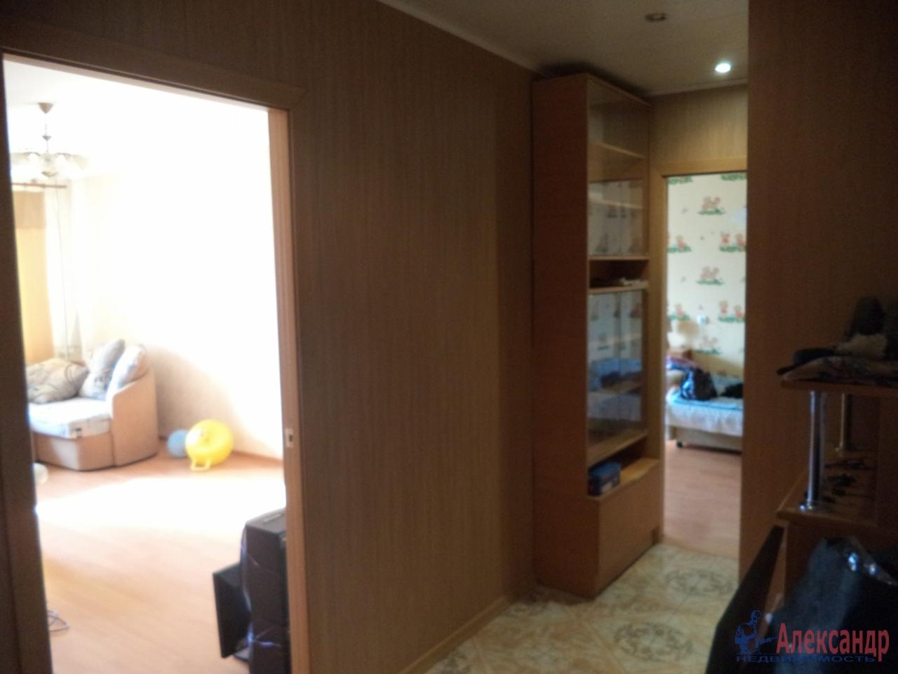 1-комнатная квартира (35м2) в аренду по адресу Академика Константинова ул., 10— фото 4 из 5
