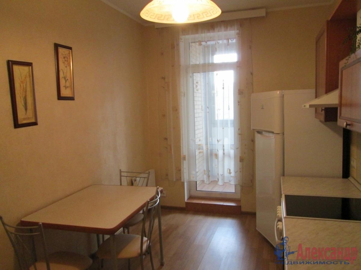 1-комнатная квартира (41м2) в аренду по адресу Народного Ополчения пр., 10— фото 5 из 5
