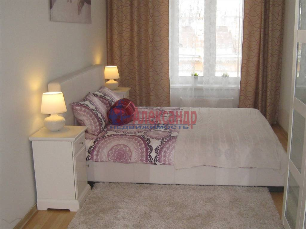 2-комнатная квартира (54м2) в аренду по адресу Чернышевского пр., 4— фото 3 из 5