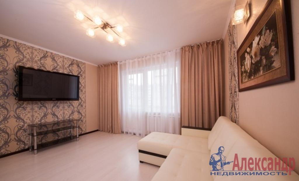 1-комнатная квартира (44м2) в аренду по адресу Бухарестская ул., 80— фото 1 из 3
