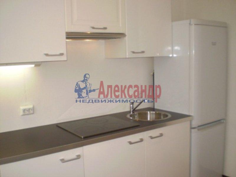 1-комнатная квартира (32м2) в аренду по адресу Кудрово дер., Европейский просп., 13— фото 1 из 6