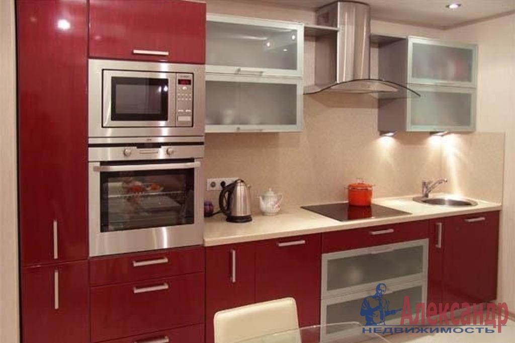 1-комнатная квартира (46м2) в аренду по адресу Будапештская ул., 7— фото 2 из 2
