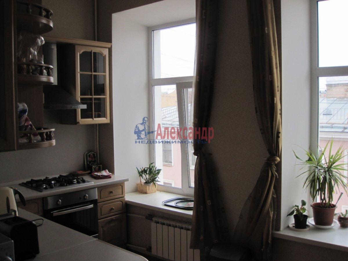 4-комнатная квартира (110м2) в аренду по адресу Спасский пер., 3— фото 9 из 10