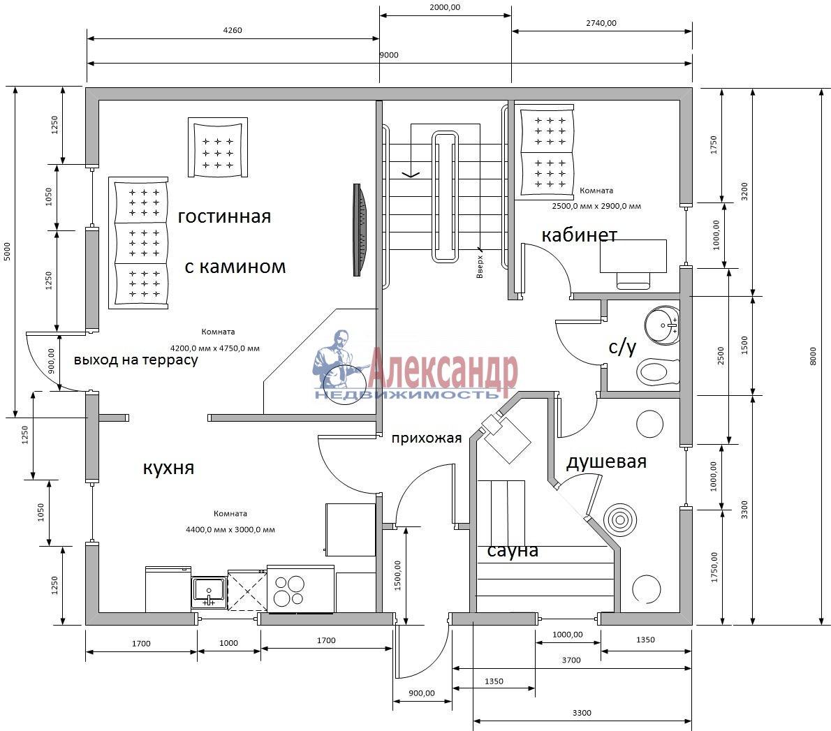 Дом (200м2) в аренду — фото 15 из 17