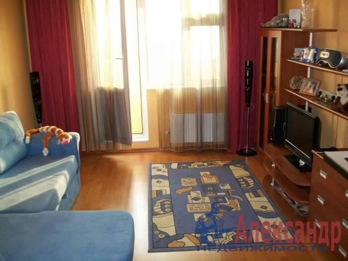 1-комнатная квартира (37м2) в аренду по адресу Ярославский пр., 83— фото 3 из 3