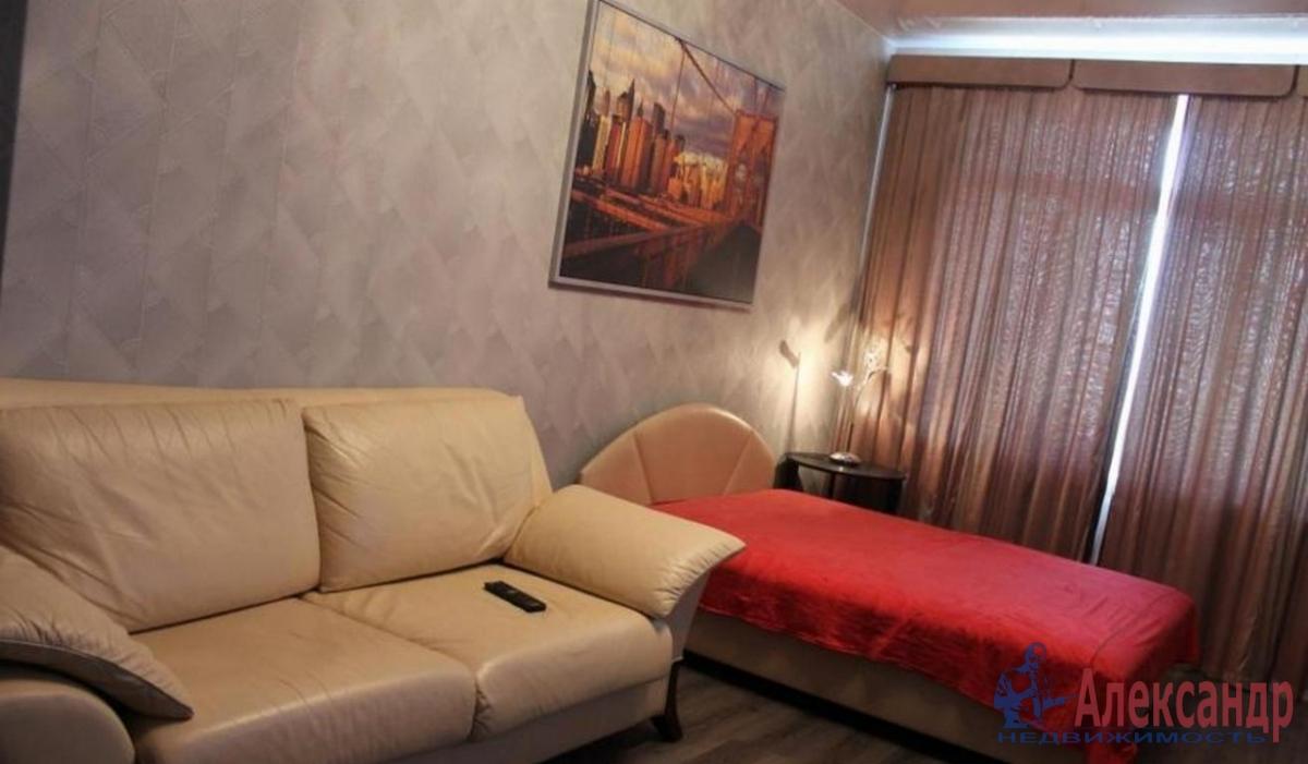 1-комнатная квартира (43м2) в аренду по адресу Приморский пр., 137— фото 1 из 3
