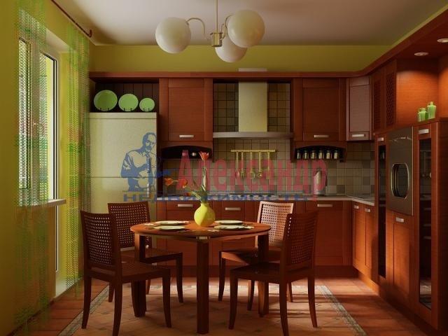 2-комнатная квартира (70м2) в аренду по адресу Белы Куна ул., 1— фото 1 из 4