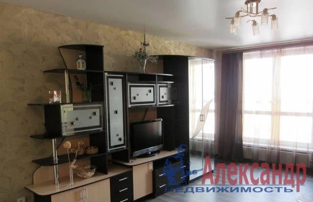 1-комнатная квартира (48м2) в аренду по адресу Матроса Железняка ул., 57— фото 1 из 5