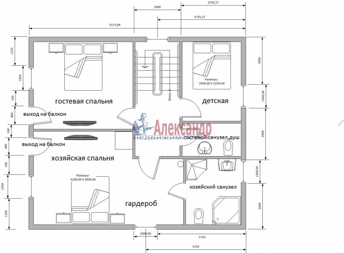 Дом (200м2) в аренду — фото 16 из 17