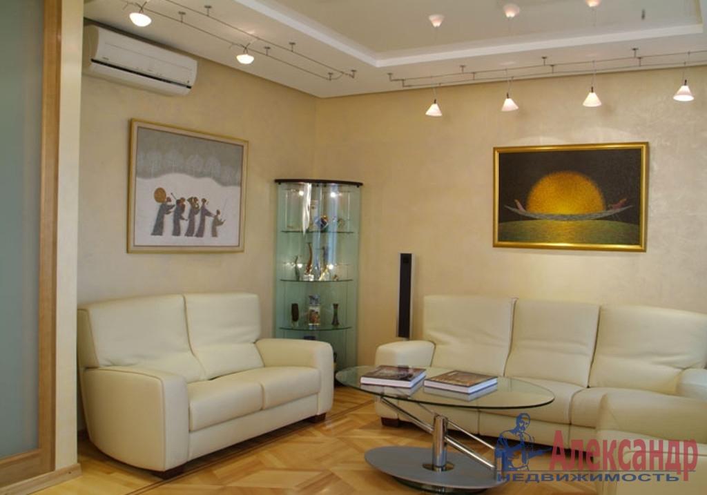 1-комнатная квартира (47м2) в аренду по адресу Лыжный пер., 4— фото 1 из 3
